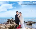 脸型不同的新娘婚纱照怎么拍好看?