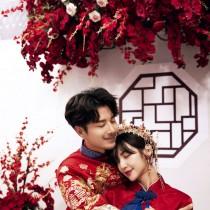 中式美,一生只为一人着红装