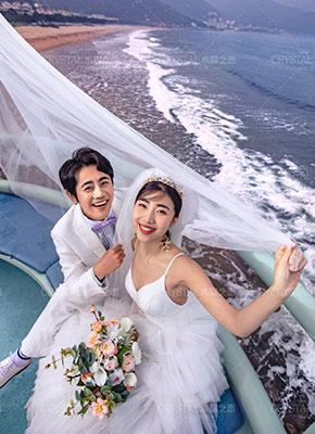 青岛旅拍婚纱照拍摄