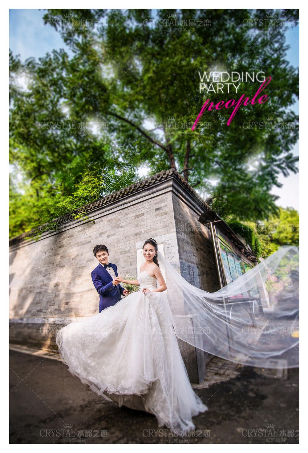 水晶之恋婚纱摄影作品欣赏