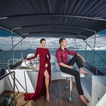 上海独家-游艇奢华-时尚旅拍风
