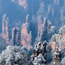 张家界天子山、袁家界、杨家界雪景风光三天两晚摄影采风团