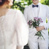 经典森系婚纱照