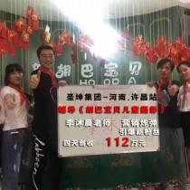 河南省許昌胡巴寶貝兒童攝影,4天創收1120000元