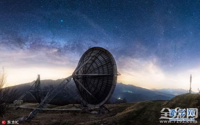 瑞士攝影師拍攝廢棄雷達站 恍如置身科幻大片